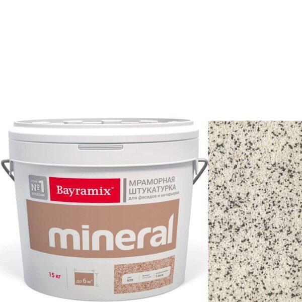 "Фото 1 - Мраморная штукатурка Байрамикс ""Минерал 859"" (Mineral цвет Saftas) мозаичная, фракция 1,2-1,5 мм  [15кг]  Bayramix."