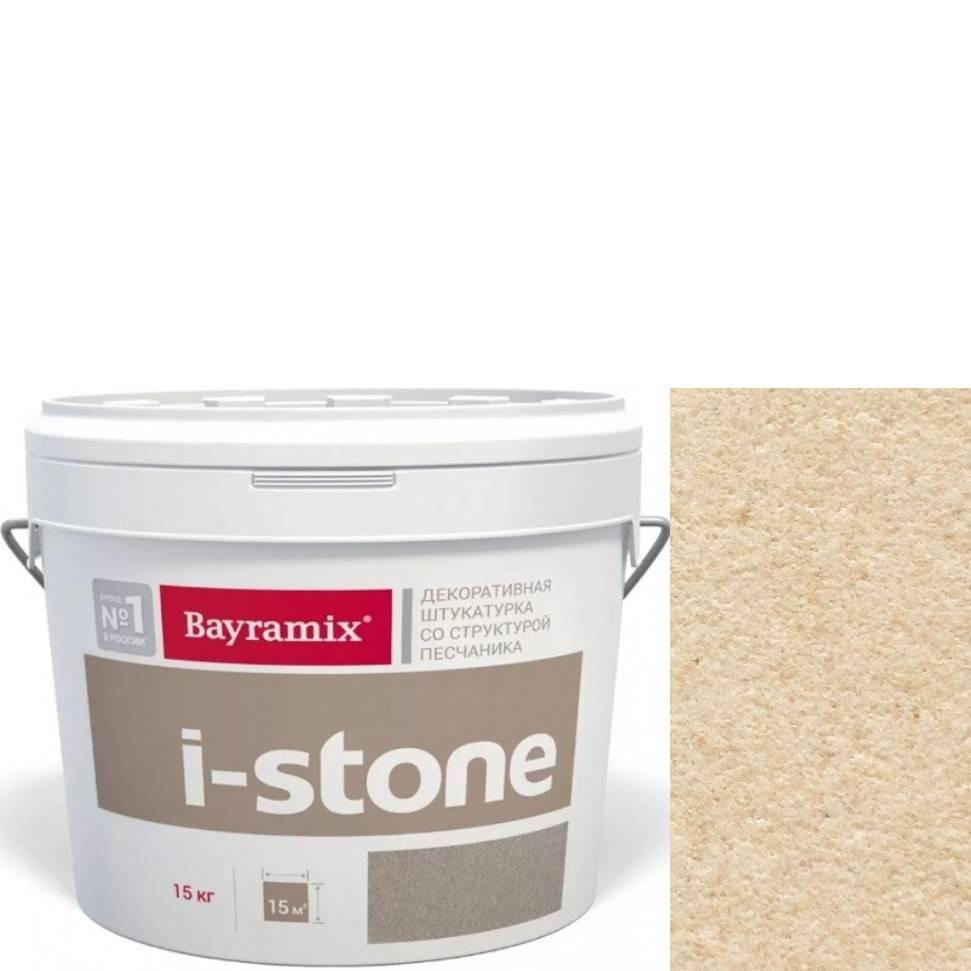 "Фото 16 - Мраморная штукатурка Байрамикс ""Ай-Стоун st3088"" (I-Stone) тонкая со структурой песчаника [15кг] Bayramix."