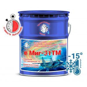"""Фото 10 - V5010 Грунт-Эмаль Премиум  """"ВМИГ - 31 ТМ"""" цвет RAL 5010 Горечавкого-синий, полуматовая быстросохнущая, морозостойкая на базе гибридных смол, по ржавчине 3 в 1, 20 кг """"Талантливый Маляр""""."""