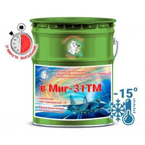 """Фото 8 - V6029 Грунт-Эмаль Премиум  """"ВМИГ - 31 ТМ"""" цвет RAL 6029 Зеленая мята, полуматовая быстросохнущая, морозостойкая на базе гибридных смол, по ржавчине 3 в 1, 20 кг """"Талантливый Маляр""""."""