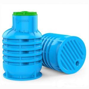Фото 3 - Усиленный пластиковый мини кессон для скважины KS 3.0 mini для размещения и защиты труб водоснабжения от скважины 1 500 л.