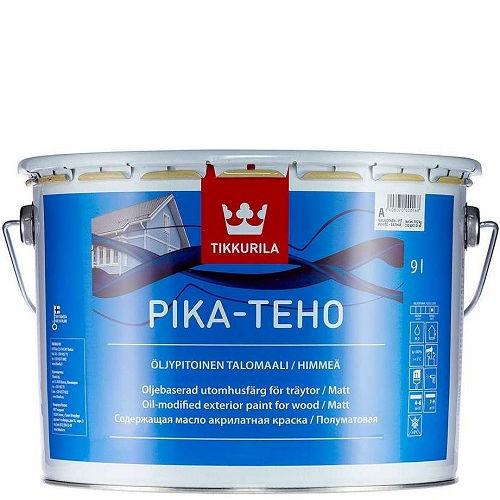 """Фото 11 - Краска Тиккурила """"Пика Техо"""" (Pika Teho) акрилатная матовая для древесины с маслами  (База А) (2.7л) """"Tikkurila""""."""