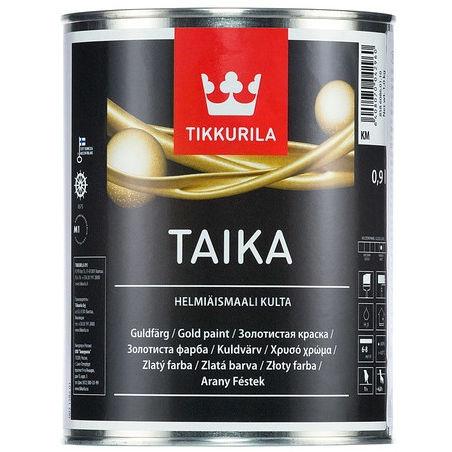 "Фото 1 - Краска Тиккурила ""Тайка"" (Taika Helmiasmaali) перламутровая полуглянцевая  (База КМ) (0.9л) ""Tikkurila""."