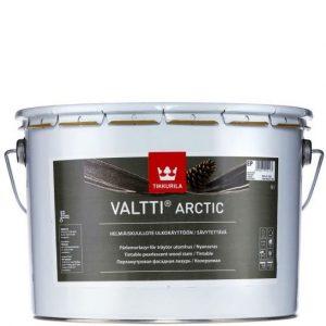 """Фото 21 - Лазурь Тиккурила """"Валти Арктик"""" (Valtti Arctic) фасадная перламутровая для древесины  (Коллеруемый) (2.7л) """"Tikkurila""""."""