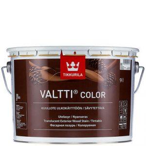 """Фото 23 - Лазурь Тиккурила """"Валтти Колор"""" (Valtti Color) фасадная для защиты древесины  (Коллеруемый) (2.7л) """"Tikkurila""""."""