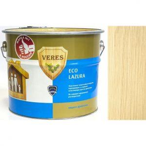 """Фото 2 - Пропитка Верес """"Эко Лазура"""" №1 Бесцветная, для древесины [Шелковисто-матовая]-[уп. 4 шт по 2,5 л] """"Veres""""."""