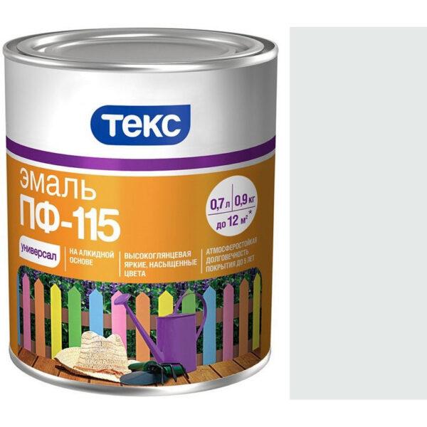 """Фото 1 - Эмаль Текс """"ПФ-115 Белая"""" универсальная глянцевая алкидная (24 кг - уп. 1 шт ) """"Teks""""."""