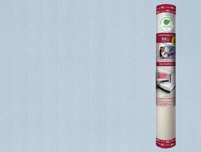 """Фото 24 - Стеклообои Велтон """"WD870 Тауэр"""" под покраску, 12,5 м """"Wellton""""."""