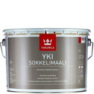"Фото 11 - Краска Тиккурила ""Юки"" (Yki Sokkelimaali) акрилатная матовая щелочестойкая для цоколя  (База А) (2.7л) ""Tikkurila""."