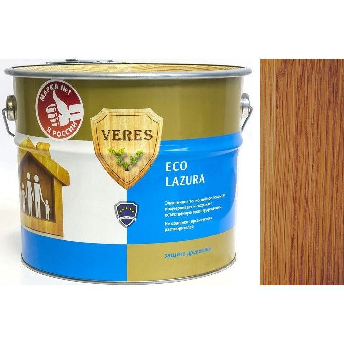 """Фото 15 - Пропитка Верес """"Эко Лазура"""" №19 Дуб, для древесины [Шелковисто-матовая]-[уп. 6 шт по 0,75 л ] """"Veres""""."""