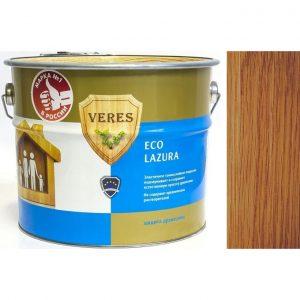 """Фото 13 - Пропитка Верес """"Эко Лазура"""" №19 Дуб, для древесины [Шелковисто-матовая]-[6 л] """"Veres""""."""
