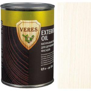 """Фото 3 - Масло Верес """"Ойл Экстерьер"""" №12 Белое, для деревянных фасадов [Полуматовое]-[уп. 6 шт по 0,25 л] """"Veres""""."""