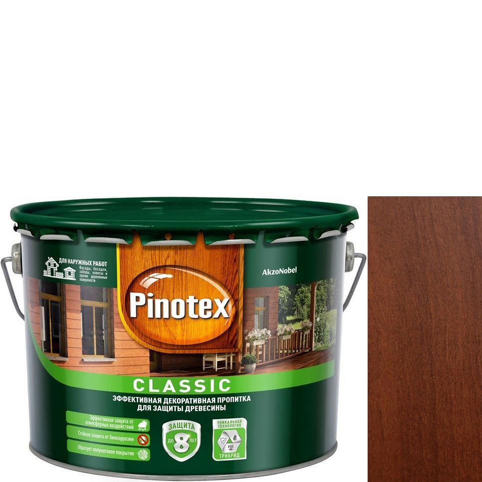 """Фото 17 - Антисептик """"Pinotex Classic"""" Ореховое дерево, полуматовая пропитка для защиты древесины  (2,7 л) """"Пинотекс""""."""