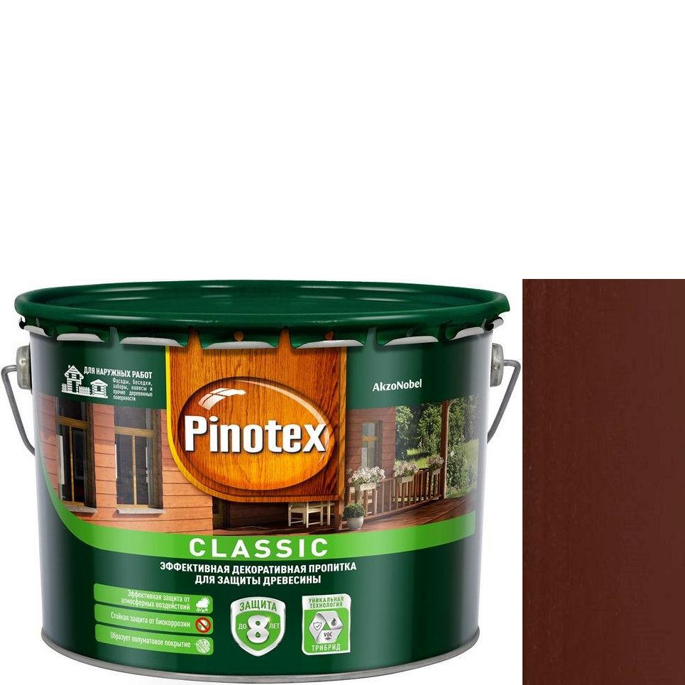 """Фото 19 - Антисептик """"Pinotex Classic"""" Палисандр, полуматовая пропитка для защиты древесины  (2,7 л) """"Пинотекс""""."""