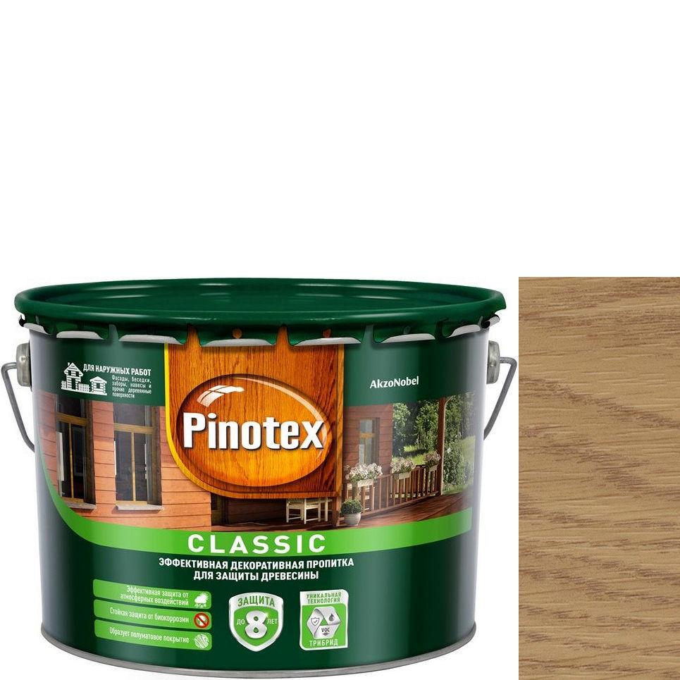 """Фото 23 - Антисептик """"Pinotex Classic"""" Светлый дуб, полуматовая пропитка для защиты древесины  (2,7 л) """"Пинотекс""""."""