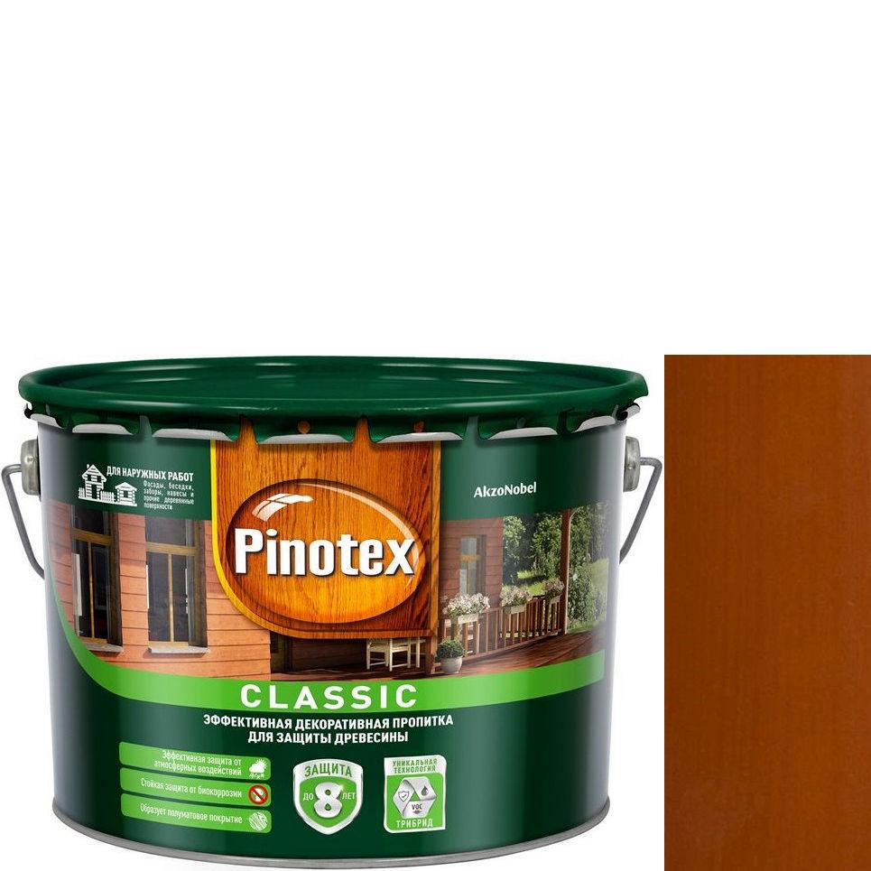 """Фото 17 - Антисептик """"Pinotex Classic"""" Тиковое дерево, полуматовая пропитка для защиты древесины  (2,7 л) """"Пинотекс""""."""