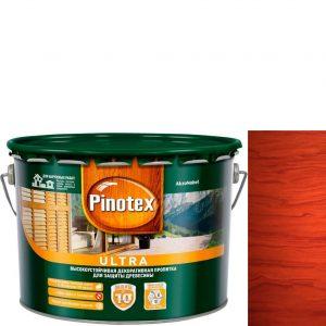 """Фото 5 - Антисептик """"Pinotex Ultra AWB"""" Красное дерево, полуглянцевая пропитка для защиты древесины  (2,7 л) """"Пинотекс""""."""