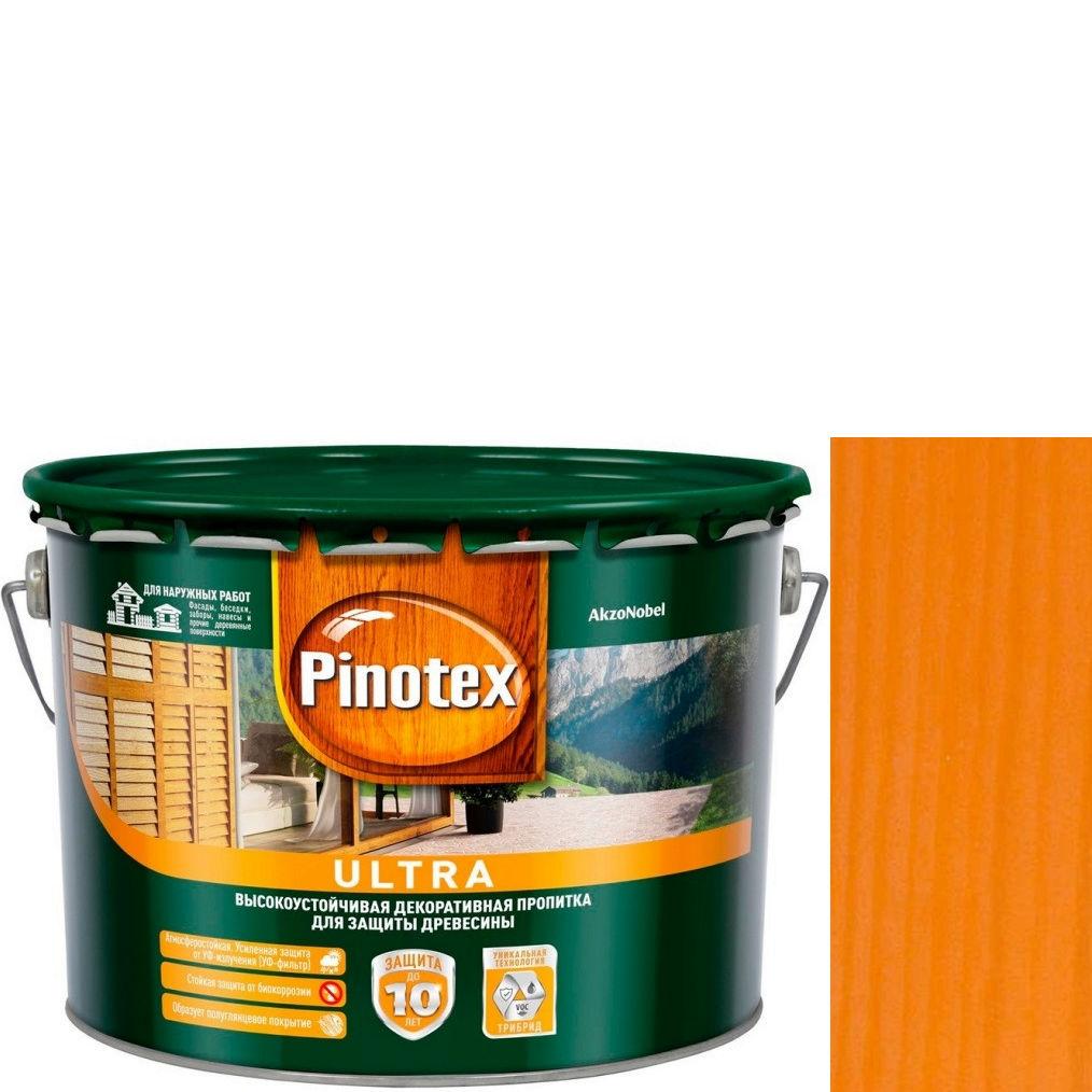 "Фото 7 - Антисептик ""Pinotex Ultra AWB"" Орегон, полуглянцевая пропитка для защиты древесины  (2,7 л) ""Пинотекс""."