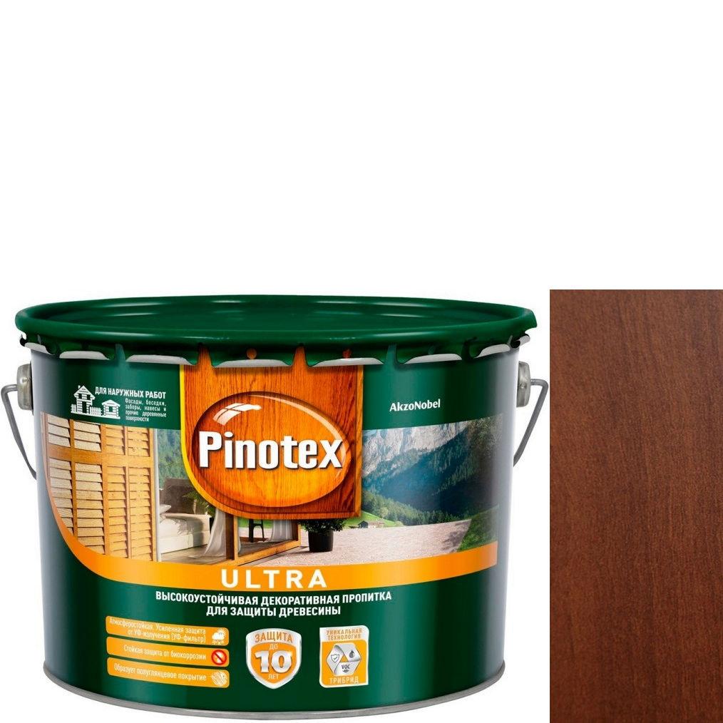 """Фото 9 - Антисептик """"Pinotex Ultra AWB"""" Ореховое дерево, полуглянцевая пропитка для защиты древесины  (2,7 л) """"Пинотекс""""."""