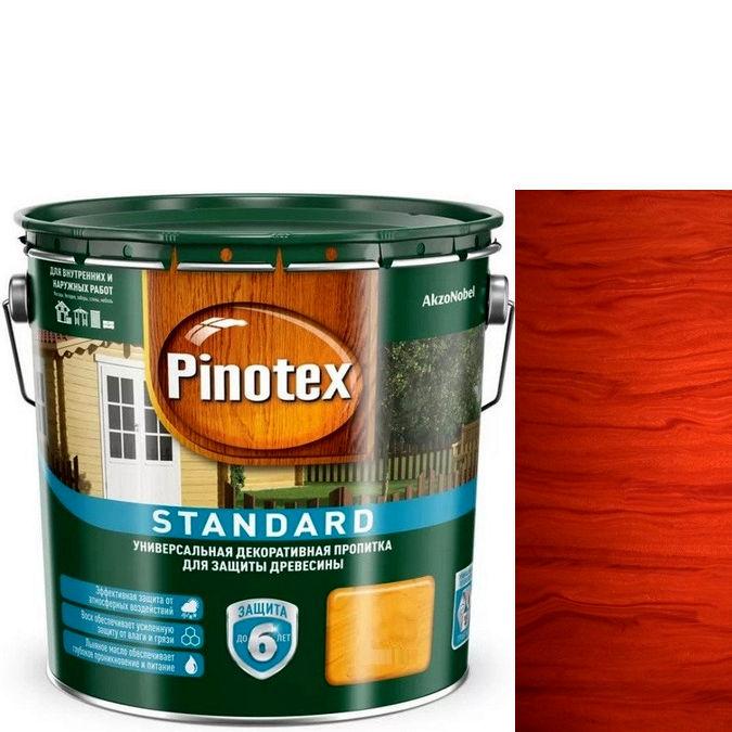 """Фото 1 - Пропитка """"Pinotex Standard"""" Красное дерево, матовая для защиты древесины (9 л) """"Пинотекс""""."""