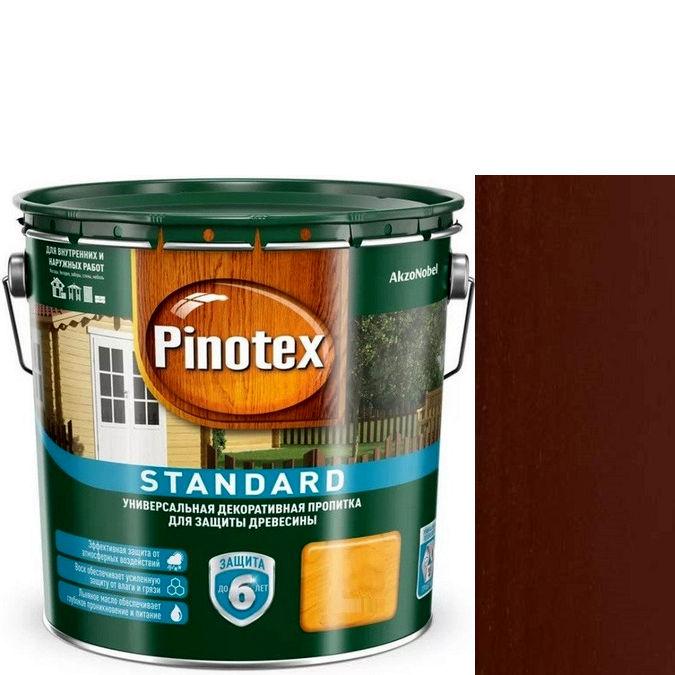 """Фото 3 - Пропитка """"Pinotex Standard"""" Палисандр, матовая для защиты древесины (9 л) """"Пинотекс""""."""