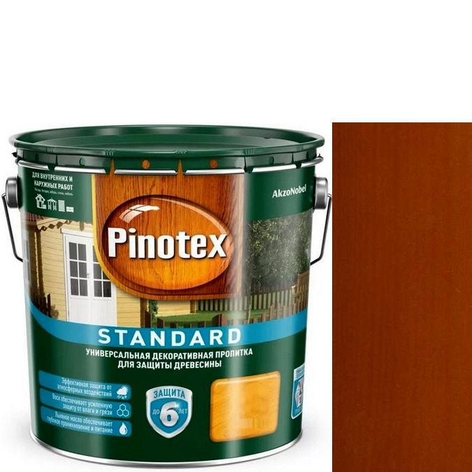 """Фото 5 - Пропитка """"Pinotex Standard"""" Тиковое дерево, матовая для защиты древесины (9 л) """"Пинотекс""""."""