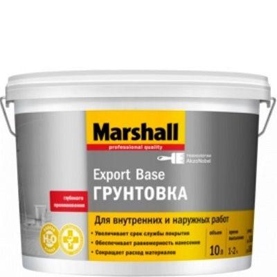 "Фото 2 - Грунтовка ""Marshall"" Экспорт База (Export Base) универсальная глубокого проникновения (10л) ""Маршал""."