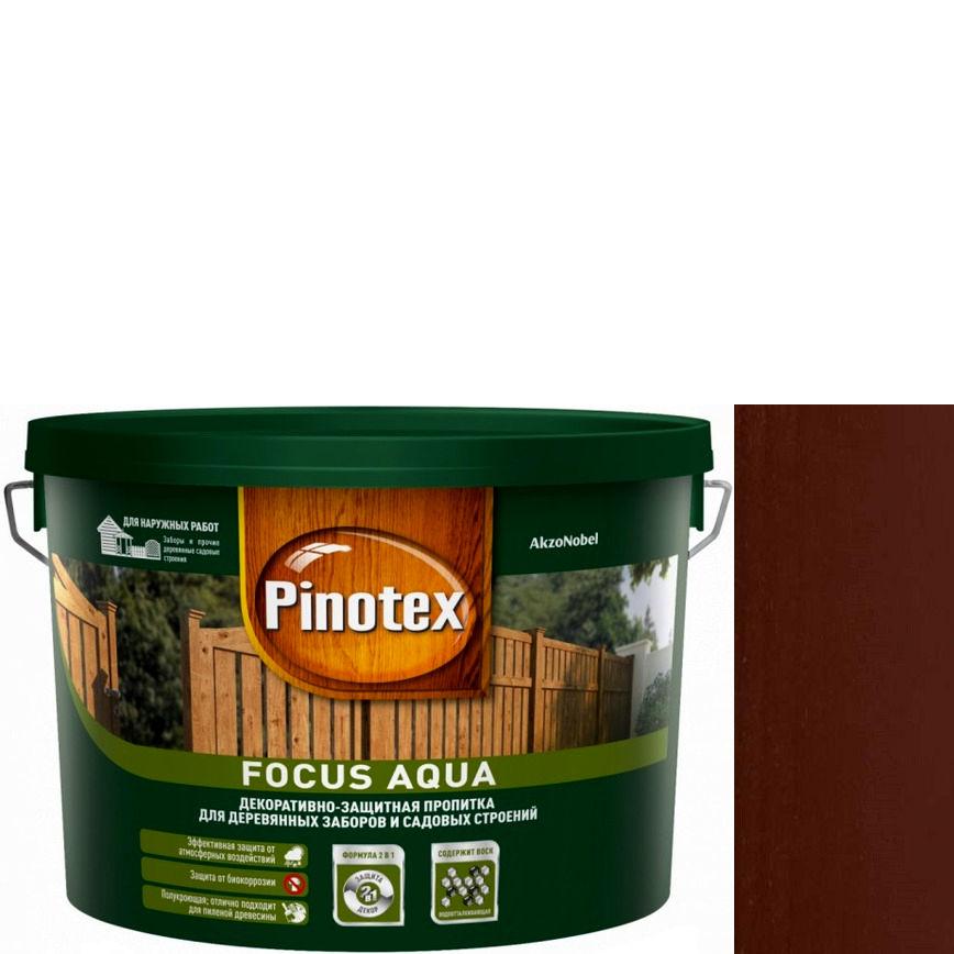 """Фото 9 - Пропитка """"Pinotex Focus Aqua"""" Палисандр, полуматовая для защиты древесины  (5 л) """"Пинотекс""""."""