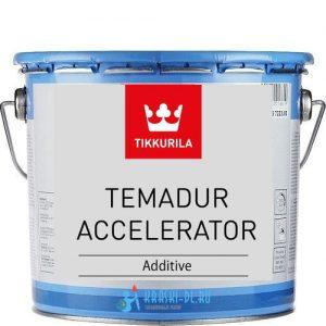 """Фото 9 - Добавка Тиккурила Индастриал """"Темадур Акселератор"""" (Temadur Accelerator) для ускорения отверждения (1л) """"Tikkurila Industrial""""."""