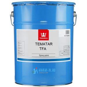"""Фото 17 - Краска Тиккурила Индастриал """"Тематар ТФА"""" (Tematar TFA) полуглянцевая для подводных конструкций 2К (16л) Черный """"Tikkurila Industrial""""."""