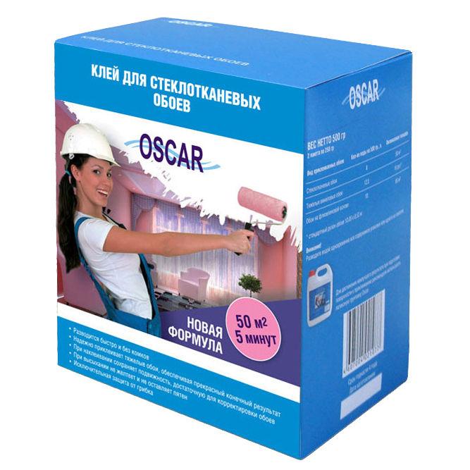 Фото 2 - Клей Оскар для стеклотканевых обоев 400 гр (расход до 50 кв м) Oscar.