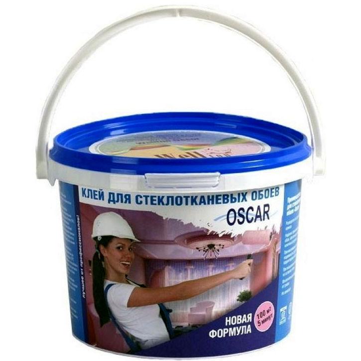 Фото 3 - Клей Оскар для стеклотканевых обоев 800 гр (расход до 100 кв м) Oscar.