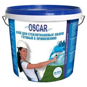 Фото 4 - Клей Оскар для стеклотканевых обоев, готовый к применению 5 кг (расход  на 20-25 кв.м.) Oscar.