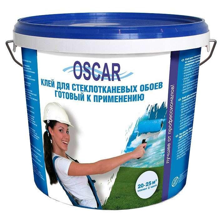 Фото 5 - Клей Оскар для стеклотканевых обоев, готовый к применению 5 кг (расход  на 20-25 кв.м.) Oscar.