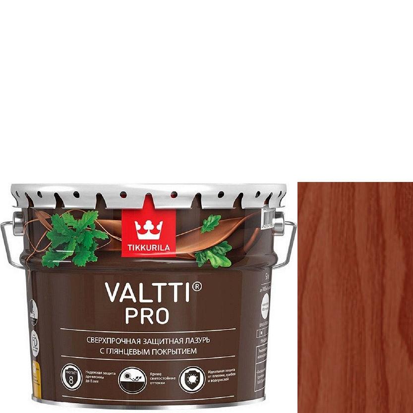 """Фото 1 - Лазурь Тиккурила """"Валтти Про"""" (Valtti Pro) Красное дерево,  глянцевая для защиты древесины  (Красное дерево) (9л) """"Tikkurila""""."""
