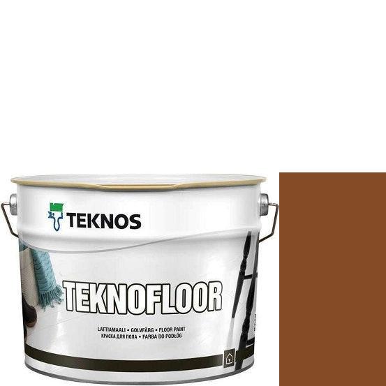 """Фото 7 - Краска Текнос """"Текнофлор"""" Т4004 (Teknofloor) уретано-алкидная глянцевая однокомпонентная для пола (2.7 л) """"Teknos""""."""