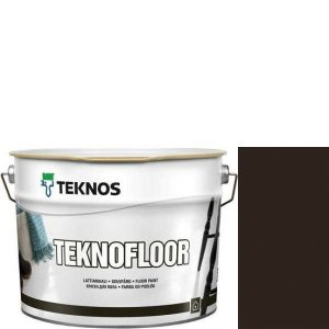 """Фото 9 - Краска Текнос """"Текнофлор"""" Т4005 (Teknofloor) уретано-алкидная глянцевая однокомпонентная для пола (2.7 л) """"Teknos""""."""