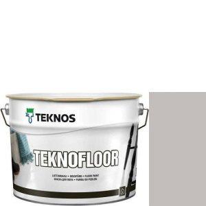 """Фото 11 - Краска Текнос """"Текнофлор"""" Т4006 (Teknofloor) уретано-алкидная глянцевая однокомпонентная для пола (2.7 л) """"Teknos""""."""