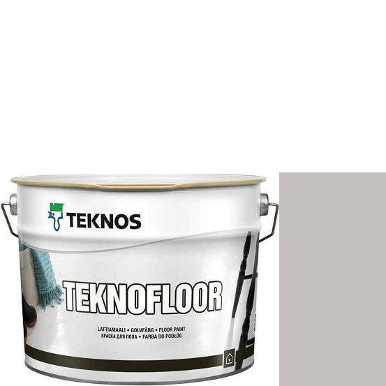 """Фото 1 - Краска Текнос """"Текнофлор"""" Т4006 (Teknofloor) уретано-алкидная глянцевая однокомпонентная для пола (9 л) """"Teknos""""."""
