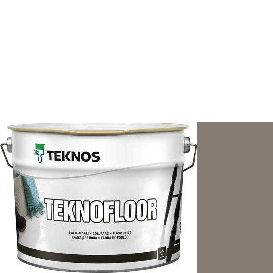 """Фото 1 - Краска Текнос """"Текнофлор"""" Т4007 (Teknofloor) уретано-алкидная глянцевая однокомпонентная для пола (2.7 л) """"Teknos""""."""