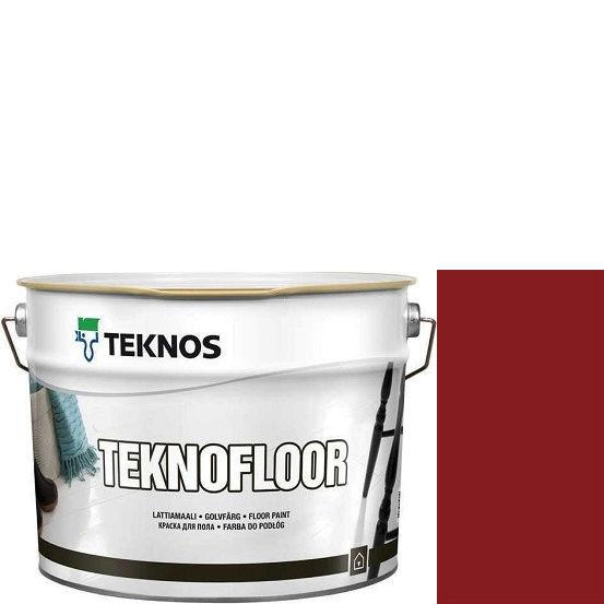 """Фото 1 - Краска Текнос """"Текнофлор"""" Т4009 (Teknofloor) уретано-алкидная глянцевая однокомпонентная для пола (2.7 л) """"Teknos""""."""