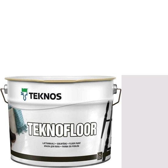 """Фото 1 - Краска Текнос """"Текнофлор"""" Т4011 (Teknofloor) уретано-алкидная глянцевая однокомпонентная для пола (2.7 л) """"Teknos""""."""