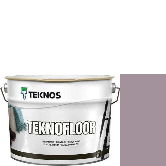 """Фото 1 - Краска Текнос """"Текнофлор"""" Т4012 (Teknofloor) уретано-алкидная глянцевая однокомпонентная для пола (9 л) """"Teknos""""."""