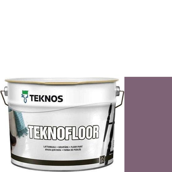 """Фото 24 - Краска Текнос """"Текнофлор"""" Т4013 (Teknofloor) уретано-алкидная глянцевая однокомпонентная для пола (2.7 л) """"Teknos""""."""