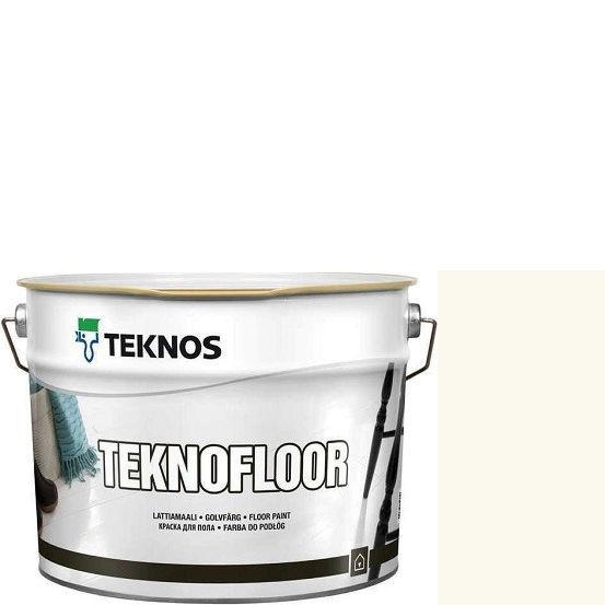 """Фото 1 - Краска Текнос """"Текнофлор"""" Т4015 (Teknofloor) уретано-алкидная глянцевая однокомпонентная для пола (9 л) """"Teknos""""."""