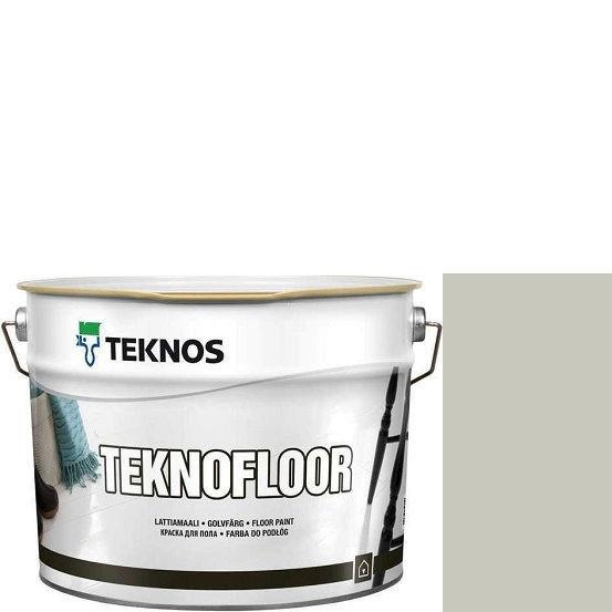 """Фото 1 - Краска Текнос """"Текнофлор"""" Т4016 (Teknofloor) уретано-алкидная глянцевая однокомпонентная для пола (2.7 л) """"Teknos""""."""