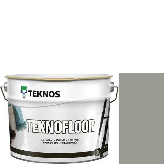 """Фото 1 - Краска Текнос """"Текнофлор"""" Т4017 (Teknofloor) уретано-алкидная глянцевая однокомпонентная для пола (9 л) """"Teknos""""."""