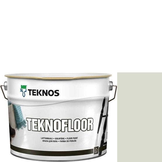 """Фото 1 - Краска Текнос """"Текнофлор"""" Т4019 (Teknofloor) уретано-алкидная глянцевая однокомпонентная для пола (2.7 л) """"Teknos""""."""