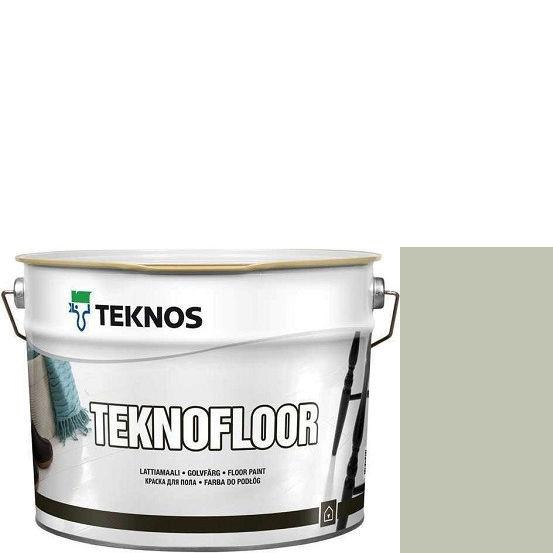 """Фото 1 - Краска Текнос """"Текнофлор"""" Т4020 (Teknofloor) уретано-алкидная глянцевая однокомпонентная для пола (2.7 л) """"Teknos""""."""