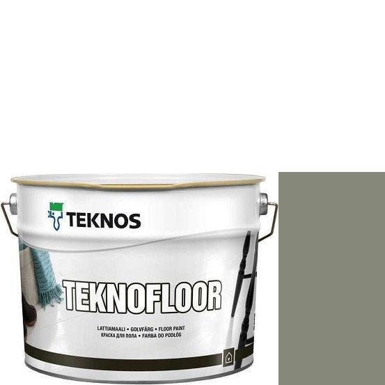 """Фото 1 - Краска Текнос """"Текнофлор"""" Т4021 (Teknofloor) уретано-алкидная глянцевая однокомпонентная для пола (2.7 л) """"Teknos""""."""